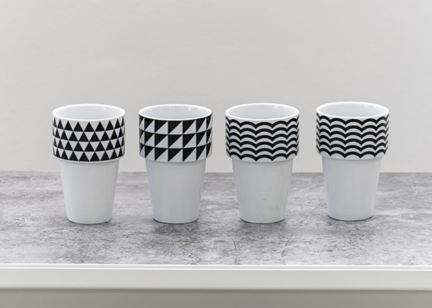 大阪のレンタルフォトスタジオ「UTSUBO STUDIO 3」のカップ 4種