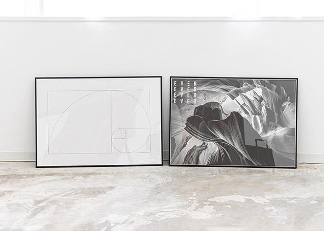 大阪のレンタルフォトスタジオ「UTSUBO STUDIO 3」の横型グラフィックポスター 2種